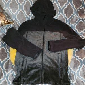 Fleece Zip Hoodie. Adidas Outdoor. M.